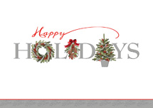 Beaded Balsam Holiday Cards